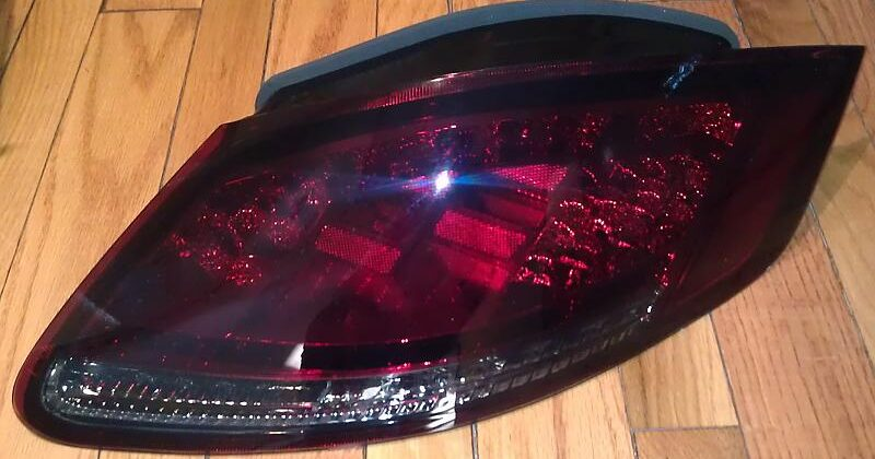 Jtec Smoked Red + Clear Signals LED Tail Light