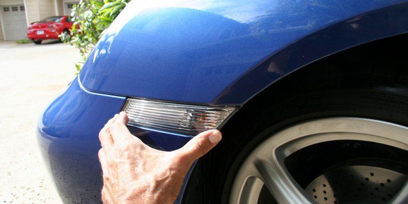 Porsche Clear Side Marker Light Install